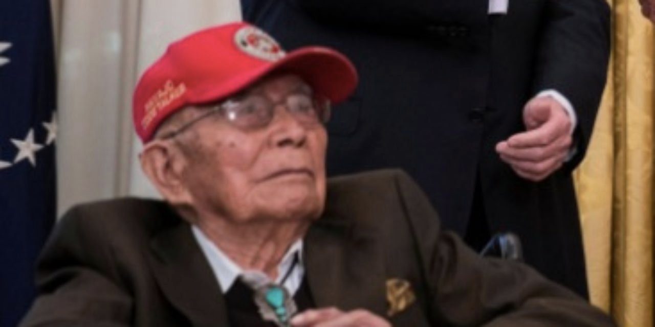 REPORT: Navajo Code Talker who fought in WWII dies at 97