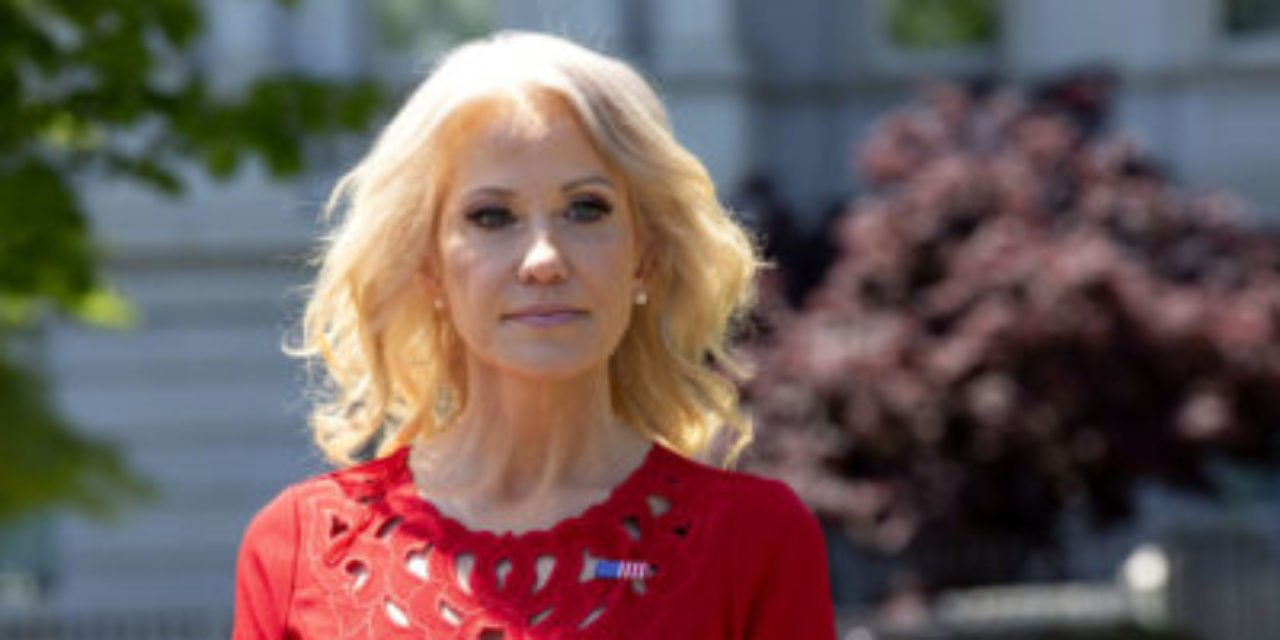 REPORT: People are stumped by Kellyanne Conway's new look [PICTURES]